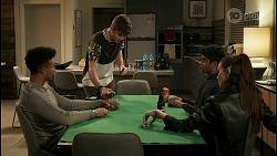 Kane Jones, Hendrix Greyson, Jay Rebecchi, Natasha Leighton in Neighbours Episode 8530