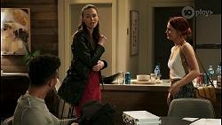 Kane Jones, Natasha Leighton, Nicolette Stone in Neighbours Episode 8530