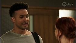 Kane Jones, Nicolette Stone in Neighbours Episode 8530