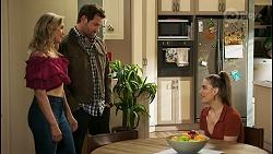 Amy Greenwood, Shane Rebecchi, Chloe Brennan in Neighbours Episode 8530