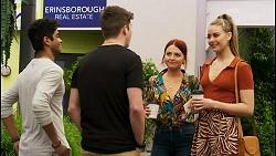 Jay Rebecchi, Hendrix Greyson, Nicolette Stone, Chloe Brennan in Neighbours Episode 8530