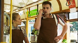 Roxy Willis, Kyle Canning in Neighbours Episode 8532