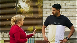 Sheila Canning, Levi Canning in Neighbours Episode 8532