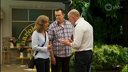 Jane Harris, Des Clarke, Clive Gibbons in Neighbours Episode 8533