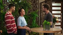 Levi Canning, Bea Nilsson, Ned Willis in Neighbours Episode 8533