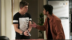 Hendrix Greyson, Jay Rebecchi in Neighbours Episode 8533
