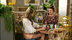 Chloe Brennan, Nicolette Stone in Neighbours Episode 8534