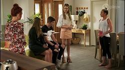 Nicolette Stone, Harlow Robinson, Hendrix Greyson, Chloe Brennan, Bea Nilsson in Neighbours Episode 8534