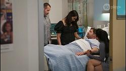 Toadie Rebecchi, Dipi Rebecchi, Shane Rebecchi, Yashvi Rebecchi in Neighbours Episode 8534