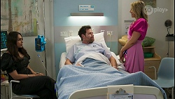 Dipi Rebecchi, Shane Rebecchi, Amy Greenwood in Neighbours Episode 8534