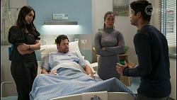 Dipi Rebecchi, Shane Rebecchi, Yashvi Rebecchi, Jay Rebecchi in Neighbours Episode 8534