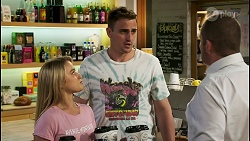 Roxy Willis, Kyle Canning, Toadie Rebecchi in Neighbours Episode 8536