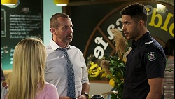 Roxy Willis, Toadie Rebecchi, Levi Canning in Neighbours Episode 8536