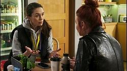 Natasha Leighton, Nicolette Stone in Neighbours Episode 8536