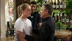 Harlow Robinson, Levi Canning, Paul Robinson in Neighbours Episode 8536