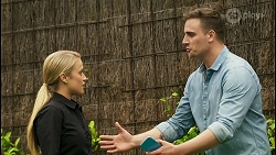 Roxy Willis, Kyle Canning in Neighbours Episode 8536