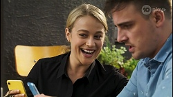 Roxy Willis, Kyle Canning in Neighbours Episode 8537