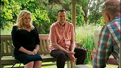 Sheila Canning, Des Clarke, Clive Gibbons in Neighbours Episode 8537