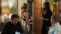 Shane Rebecchi, Amy Greenwood, Dipi Rebecchi, Toadie Rebecchi in Neighbours Episode 8538
