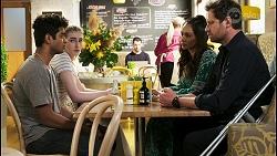 Jay Rebecchi, Mackenzie Hargreaves, Dipi Rebecchi, Shane Rebecchi in Neighbours Episode 8538