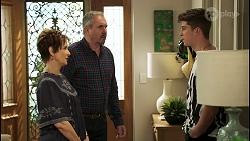 Susan Kennedy, Karl Kennedy, Hendrix Greyson in Neighbours Episode 8538