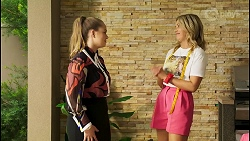 Harlow Robinson, Amy Greenwood in Neighbours Episode 8538