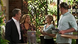 Paul Robinson, Terese Willis, Roxy Willis, Kyle Canning in Neighbours Episode 8540
