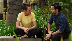 Bea Nilsson, David Tanaka in Neighbours Episode 8541