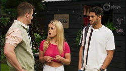 Kyle Canning, Roxy Willis, Levi Canning in Neighbours Episode 8541
