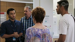 David Tanaka, Karl Kennedy, Susan Kennedy, Levi Canning in Neighbours Episode 8542