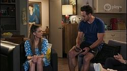 Chloe Brennan, Aaron Brennan in Neighbours Episode 8542