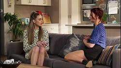 Chloe Brennan, Nicolette Stone in Neighbours Episode 8542