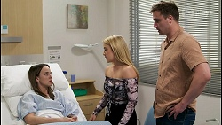 Bea Nilsson, Roxy Willis, Kyle Canning in Neighbours Episode 8542