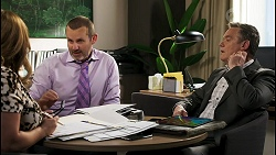 Terese Willis, Toadie Rebecchi, Paul Robinson in Neighbours Episode 8543