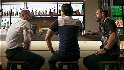 Toadie Rebecchi, David Tanaka, Aaron Brennan in Neighbours Episode 8544