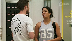 Ned Willis, Yashvi Rebecchi in Neighbours Episode 8545