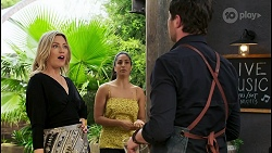 Amy Greenwood, Yashvi Rebecchi, Shane Rebecchi in Neighbours Episode 8545