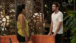 Yashvi Rebecchi, Ned Willis in Neighbours Episode 8545