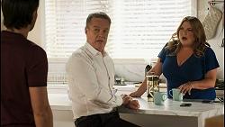 David Tanaka, Paul Robinson, Terese Willis in Neighbours Episode 8546