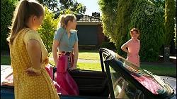 Harlow Robinson, Mackenzie Hargreaves, Nicolette Stone in Neighbours Episode 8546