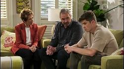 Susan Kennedy, Karl Kennedy, Hendrix Greyson in Neighbours Episode 8547