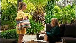 Harlow Robinson, Jane Harris in Neighbours Episode 8547