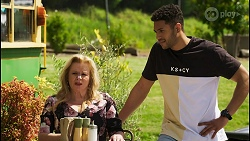 Sheila Canning, Levi Canning in Neighbours Episode 8547