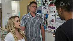 Roxy Willis, Kyle Canning, Levi Canning in Neighbours Episode 8548