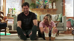 Shane Rebecchi, Amy Greenwood in Neighbours Episode 8548