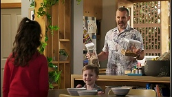 Nell Rebecchi, Hugo Somers, Toadie Rebecchi in Neighbours Episode 8548
