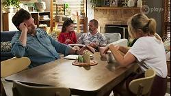 Shane Rebecchi, Nell Rebecchi, Toadie Rebecchi, Amy Greenwood in Neighbours Episode 8549