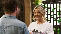 Shane Rebecchi, Amy Greenwood in Neighbours Episode 8549