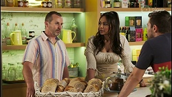 Toadie Rebecchi, Dipi Rebecchi, Ned Willis in Neighbours Episode 8550