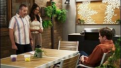 Toadie Rebecchi, Dipi Rebecchi, Shane Rebecchi in Neighbours Episode 8550